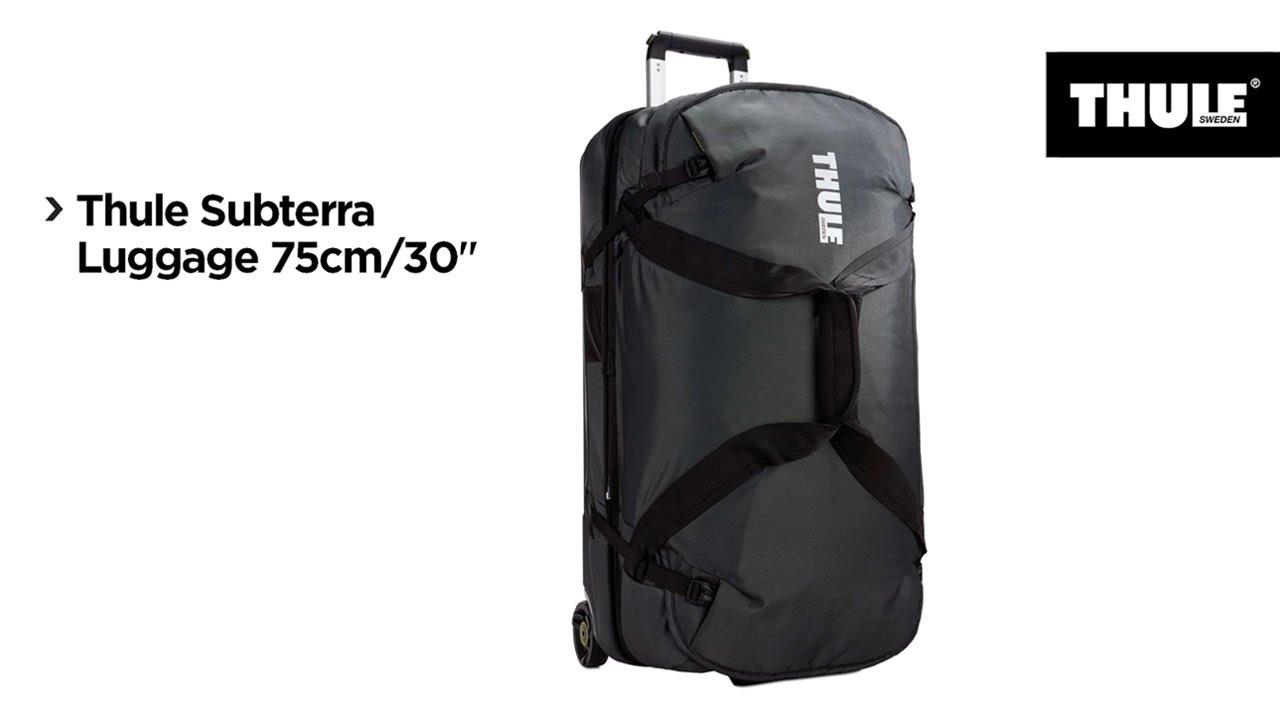 """ece69fcc7e Luggage - Thule Subterra Luggage 75cm 30"""" - YouTube"""