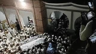 حضرت مولانا عبد الخالق صاحب سنبھلی(نور اللہ مرقدہ)کی نمازہ جنازہ میں پاسبان توحیدکا امنڈتا ہوا سیلاب