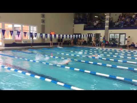Andrew B - 100 Back - Illinois Quad Meet 2017