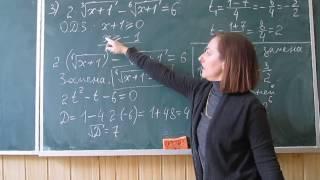 Математика это просто. Иррациональные уравнения 2.