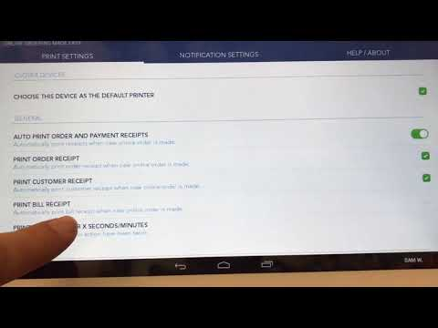 Auto Print Customer Receipt - Smart Online Order