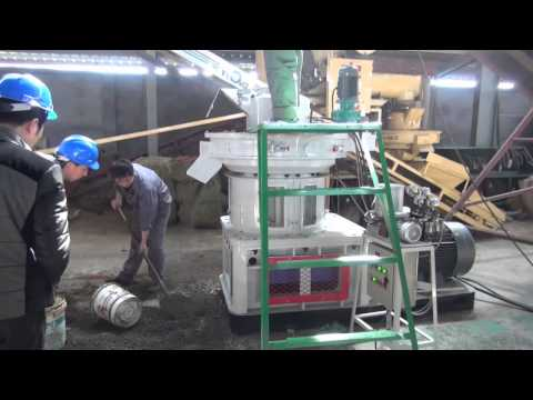 YULONG XGJ560 pellet machine installation and testing proces