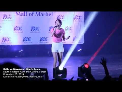 Kathryn Bernardo - Blank Space Live at KCC Mall of Gensan/Marbel 2014