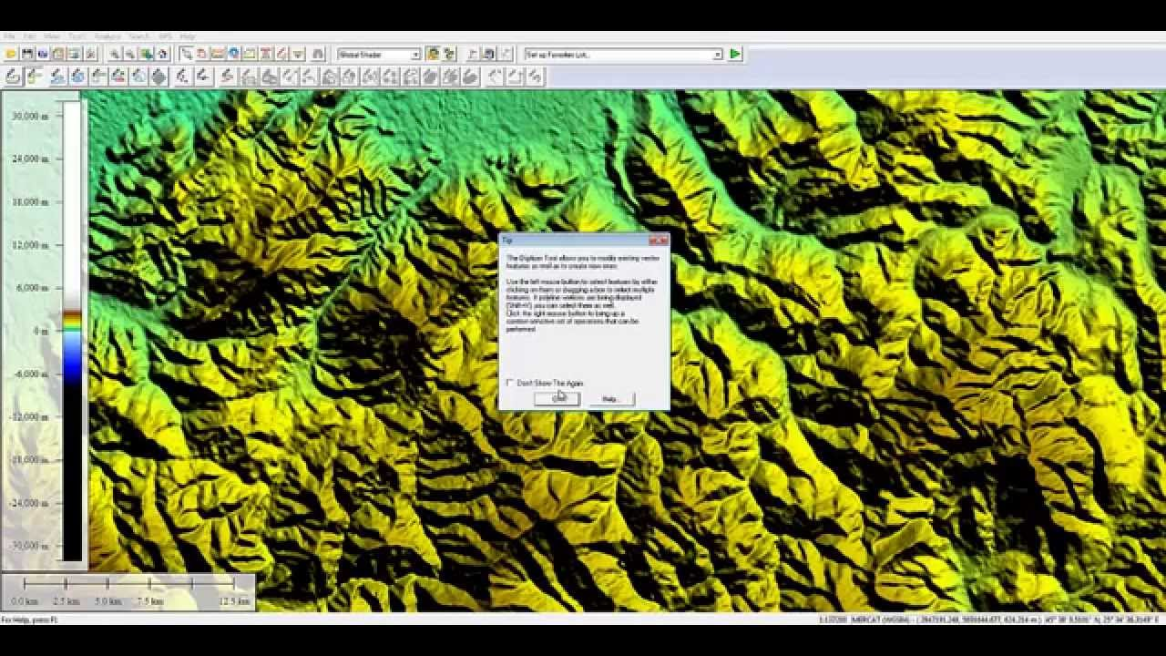 Create A DEM Surface From Global Mapper To Use In Civil D YouTube - Dem global