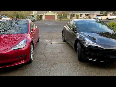 Tesla Model 3 Standard Plus Partial Premium Vs Premium (Quick Look)