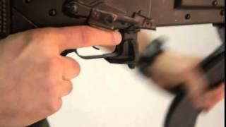 AK47 und Klone  erweiterter Magazinhalter - Magazinhebel / schneller nachladen für Saiga,Vepr, Ak47