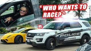 LOCAL KENTUCKY COP ASKS US TO RACE!! FT. DAILY DRIVEN EXOTICS