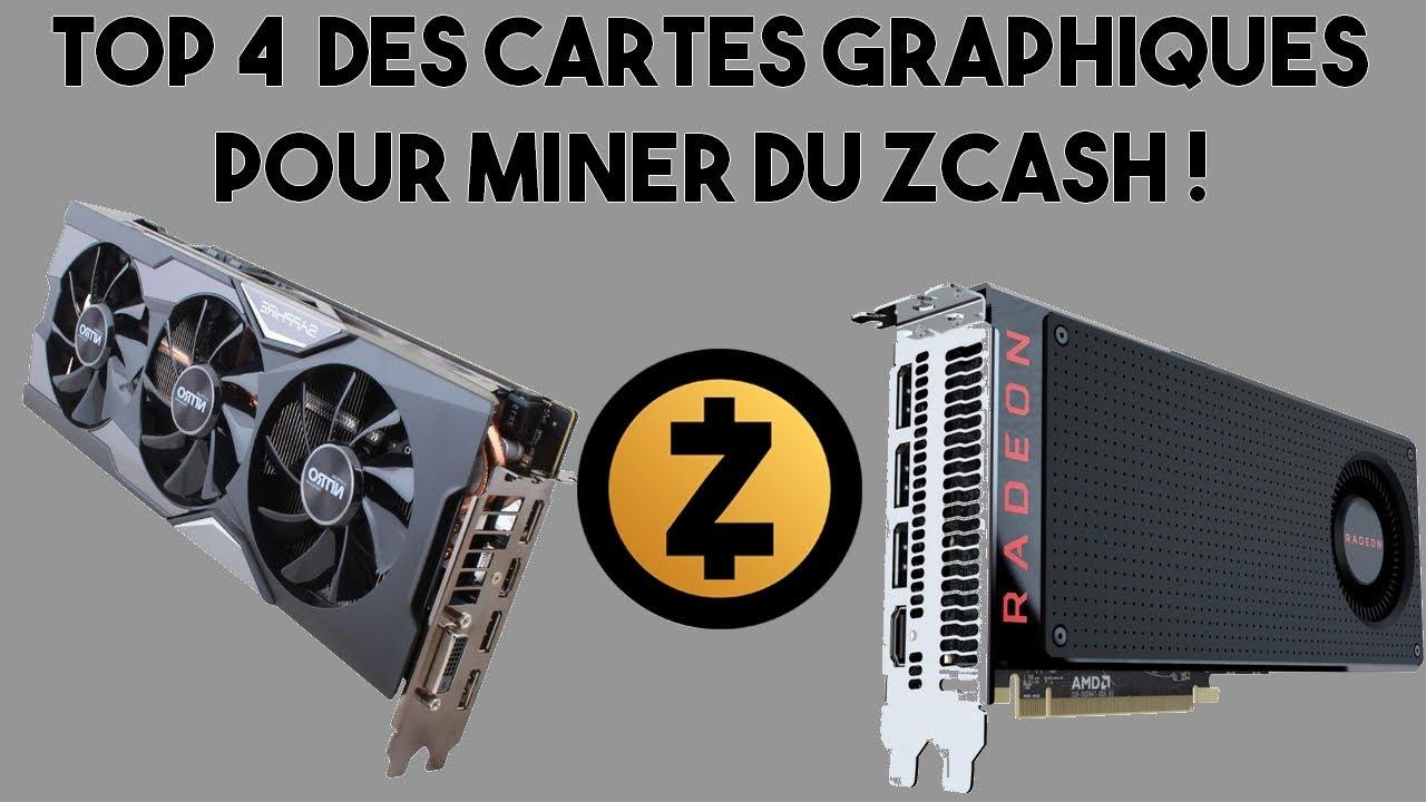 meilleur carte graphique pour miner Top 4 des meilleures cartes graphiques pour miner du Zcash !   YouTube