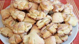 """Творожное печенье """"Гусиные лапки"""".Вкусно и просто."""