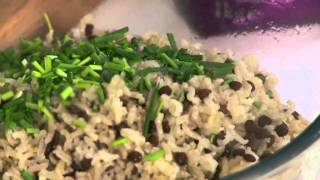 Sea Bass With Warm Rice & Lentil Salad  Recipe - Presented By Celebrity Chef Jo Pratt