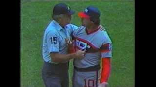 Tony LaRussa Tossed From Game 1985