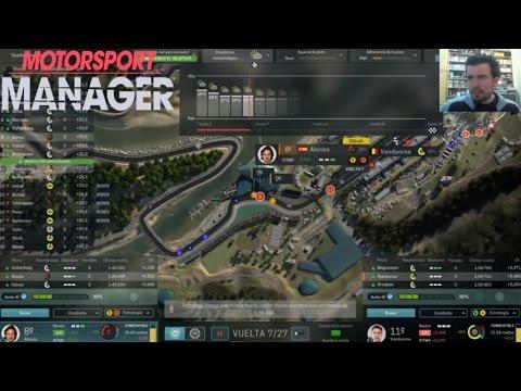 MOTORSPORT MANAGER (PC) - Gestiona tu equipo de Fórmula 1    Gameplay en Español
