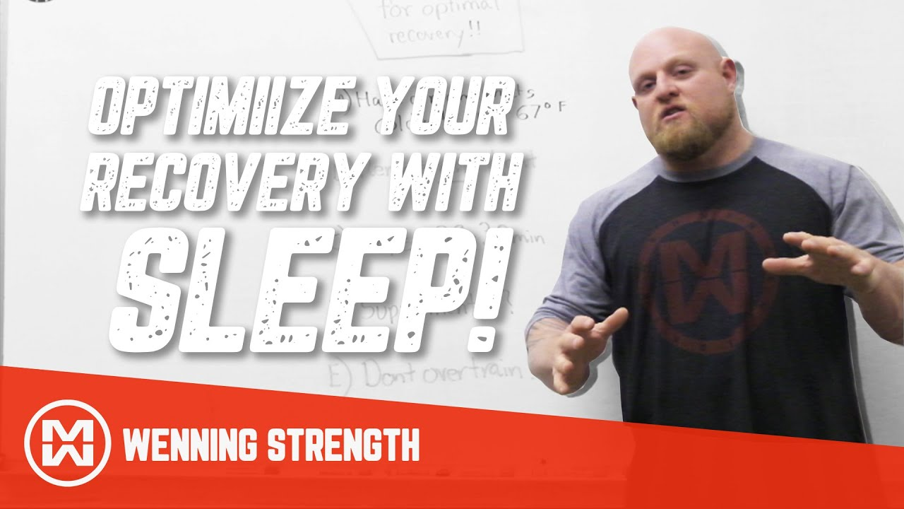 Sleep Tricks for Optimal Recovery (5 Ways to Optimize Rest)