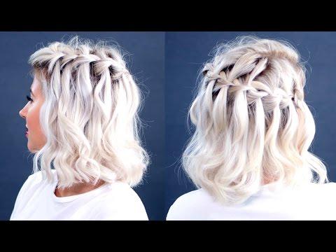 HOW TO: Waterfall Braid Short Hair Tutorial | Milabu