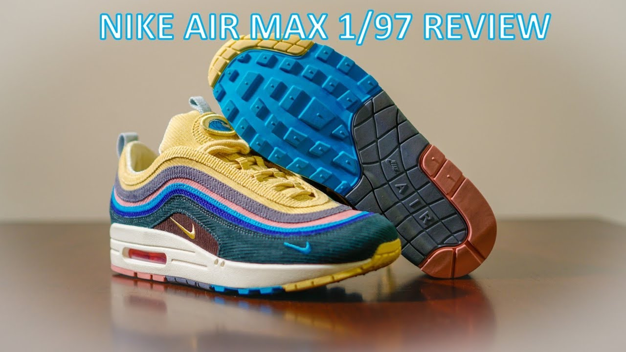 0df24f1a19ad70 REVIEW   ON-FEET - Nike Air Max 1 97 Sean Wotherspoon - YouTube
