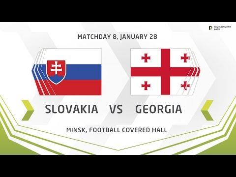 Development Cup - 2018. Slovakia - Georgia