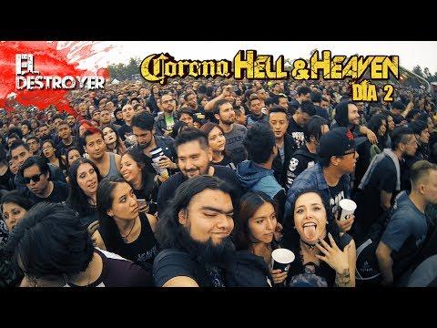 Mi Experiencia Hell and Heaven 2018 - Día 2 | Manson Sucks | El Destroyer