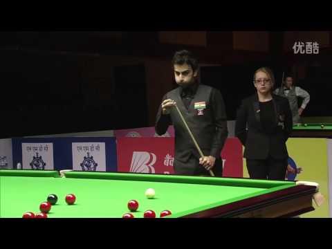 Pankaj ADVANI vs Elliot SLESSOR _ Indian Open Snooker