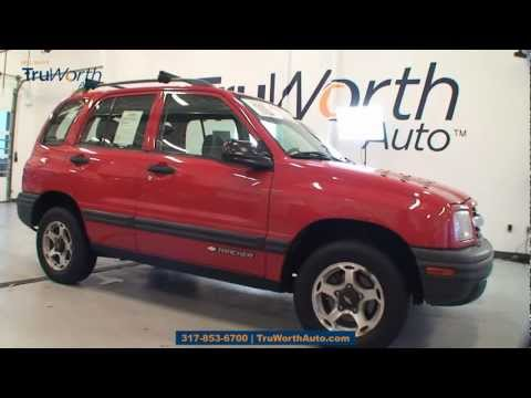 """2001 Chevrolet Tracker Base Hard Top - """"Clean CARFAX, 1-Owner,Roof Rack"""" - TruWorth Auto"""