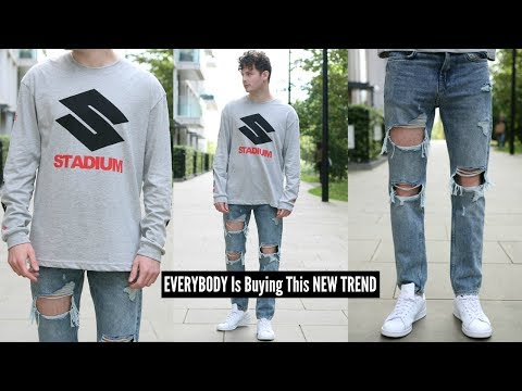 H&M MENS STREETWEAR OUTFIT CHALLENGE, HOW TO STYLE STREETWEAR - MENS FASHION 2019