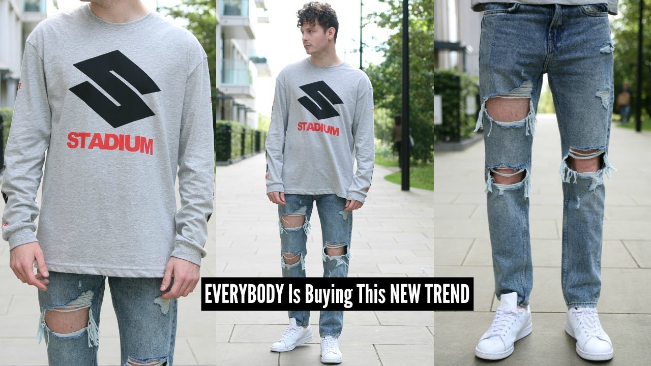 H\u0026M MENS STREETWEAR OUTFIT CHALLENGE, HOW TO STYLE STREETWEAR , MENS  FASHION 2019