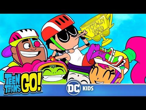 Teen Titans Go! | Rollerblade Wars | DC Kids