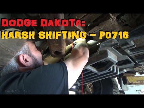Dodge Dakota Harsh Shifting - P0715
