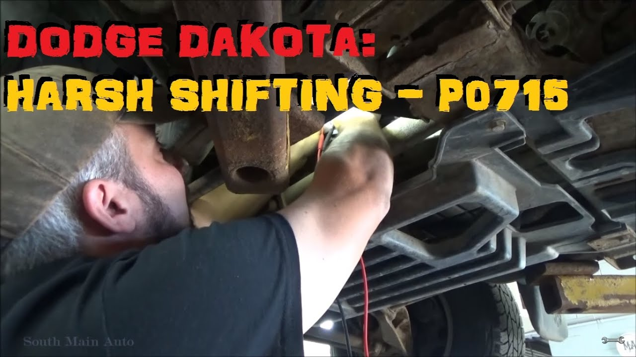 Dodge Dakota Harsh Shifting - P0715