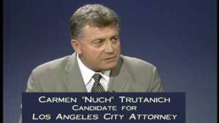 "D.A. Steve Cooley Endorses Carmen ""Nuch"" Trutanich for Los Angeles City Attorney"