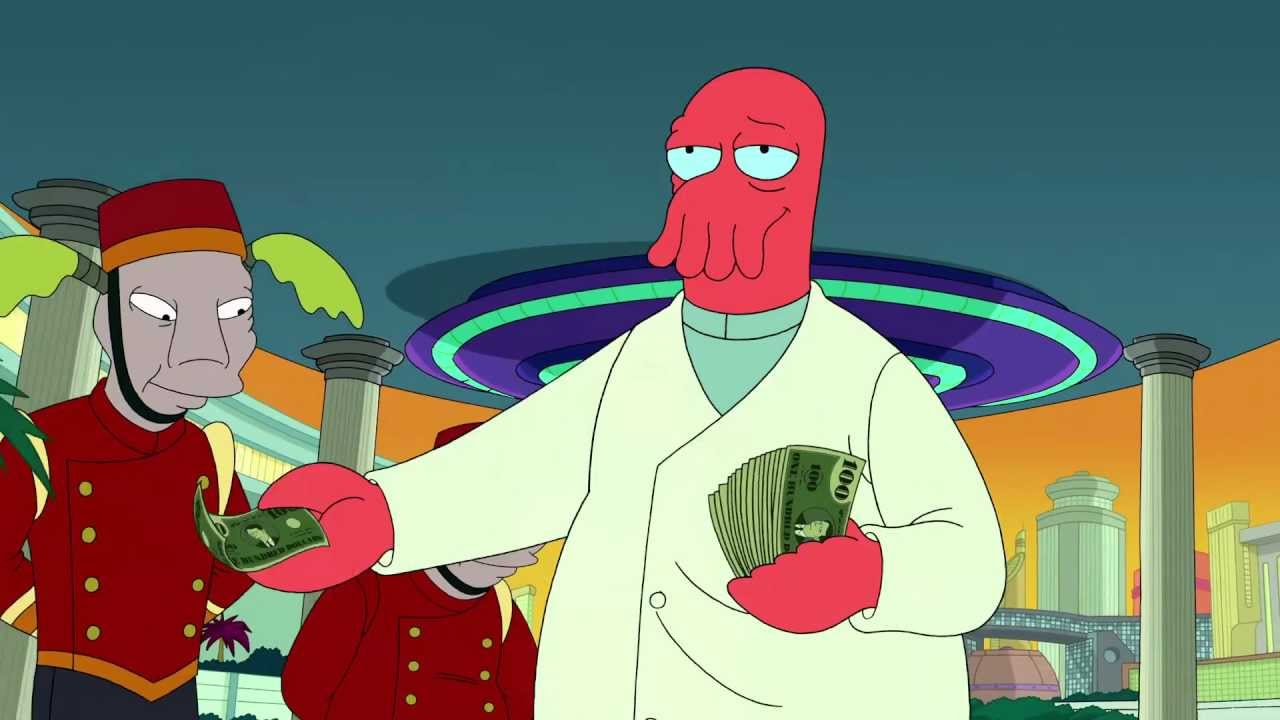 INTL Futurama WHY NOT ZOIDBERG? - YouTube