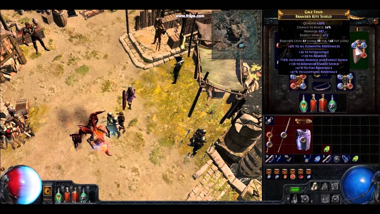 how to build a poe