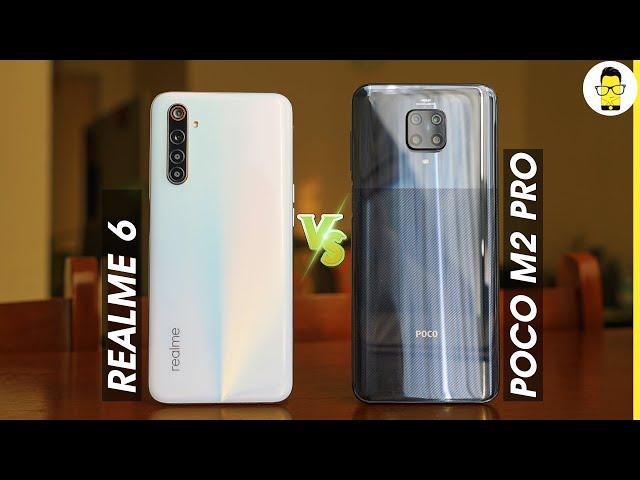 Poco M2 Pro vs Realme 6 - which one to buy? | camera, software, privacy & performance comparison