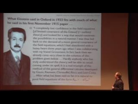 History of General Relativity Lecture