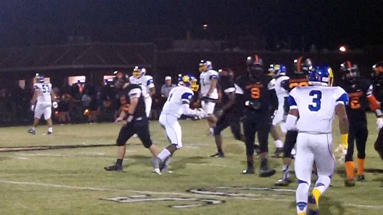 Southeast Guilford At Dudley Football 11 6 15 Youtube
