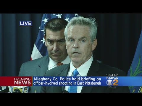 RAW VIDEO: Allegheny County Police Press Conference Regarding A Fatal Police-Involved Shooting