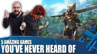 5 Games You've Never Heard Of But Need To Be Hyped For Right Now