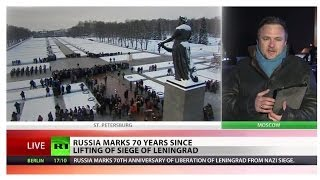 Leningrad blockade: 70th anniversary marked in Russia