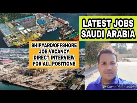 Shipyard//offshore job vacancy saudi arabia, all positions direct interview @jan2020.