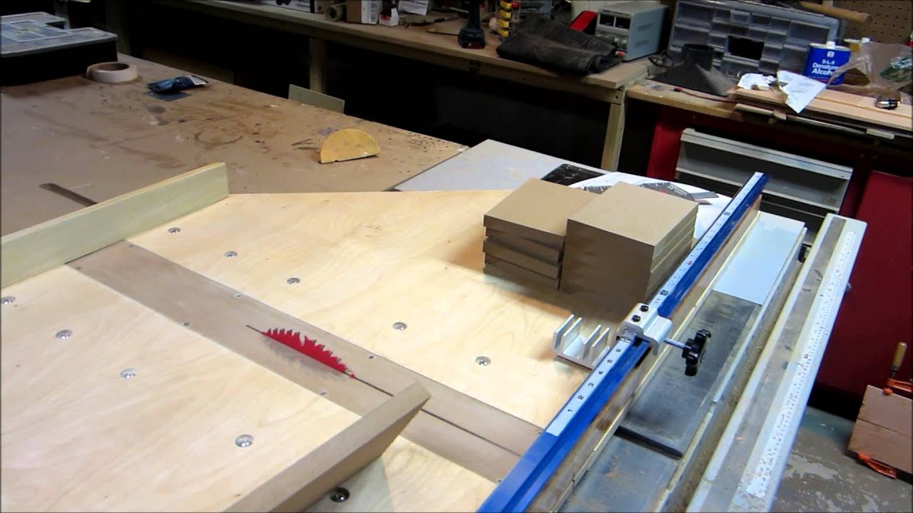 Diy Table Saw Crosscut Sled Part 2 Youtube