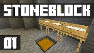 StoneBlock - Ep. 1: MODDED'S RETURN! (Modded Minecraft 1.12.2) | iJevin
