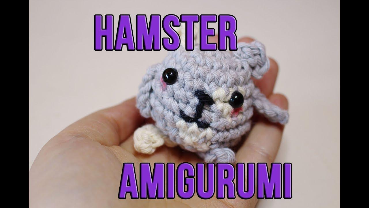 Hámster Amugurumi Tutorial Diy Crochet Hamster Ganchillo Hasta
