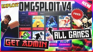 ✅NEW ROBLOX GET ADMIN ALL GAMES OMGSploit V4 ✅ AFK FARM, MONEY, AIMBOT, ESP AND MORE