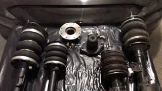 Обзор пневматических стоек Mitsubishi Lancer X