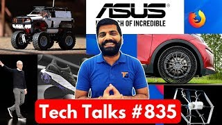 Tech Talks #835 Asus Zenfone Issue, Amazon Drone, iOS 13 Battery, Xiaomi Robot Car, Antutu Top 10