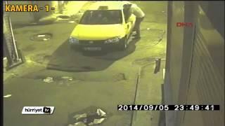 İstanbul'da taksici gaspı saniye saniye kamerada   HürriyetTV Haber
