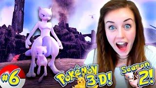 POKEMON 3D SEASON 2! - 😍 GUYS WE GOT MEW + MEWTWO!!!✨ (Ep #6)