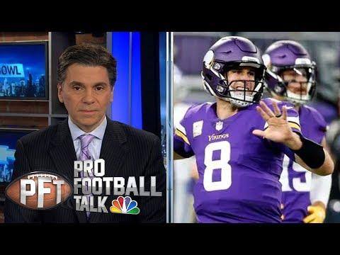 Kirk Cousins' critical mistakes sink Minnesota Vikings in Chicago | Pro Football Talk | NBC Sports