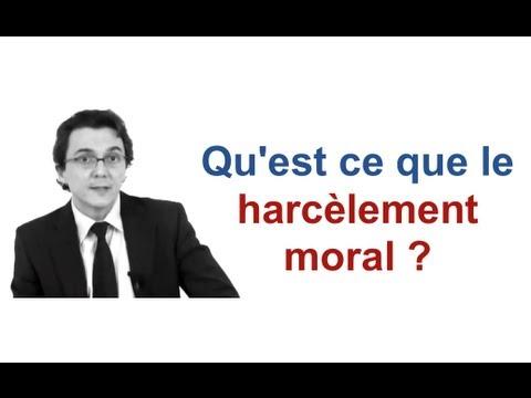 Qu Est Ce Que Le Harcelement Moral Cabinet Bensussan Berenthal