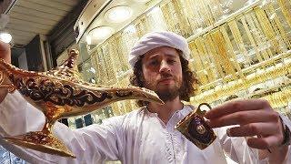 Visitando la CIUDAD HECHA DE ORO en Dubai