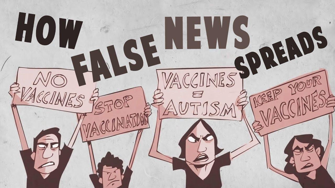 How false news can spread - Noah Tavlin